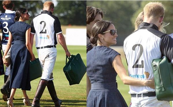 Ngôn ngữ cơ thể cho thấy cuộc hôn nhân của Harry và Meghan đang rất tốt đẹp.