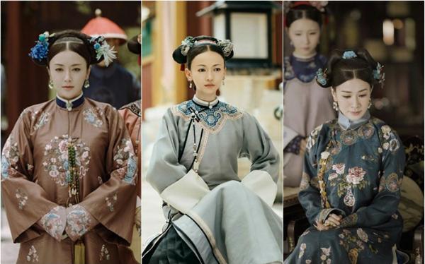 Đặt cạnh Tần Lam và Xa Thi Mạn, nhan sắc của Ngô Cẩn Ngôn không mấy nổi bật.
