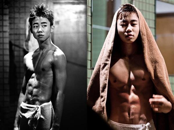 [Năm 2013, Park Ji Bin khiến khán giả hết hồn với thân hình 6 múi chuẩn mực trong bộ phim Incarnation of Money. Hình tượng này đã khiến Park Ji Bin lột xác hoàn toàn, khác hẳn hình ảnh sao nhí đáng yêu năm nào.