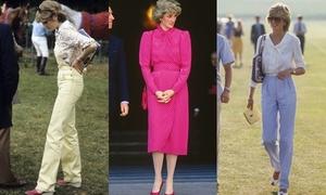 Nhìn lại style hè đẹp bất chấp thời gian của Công nương Diana