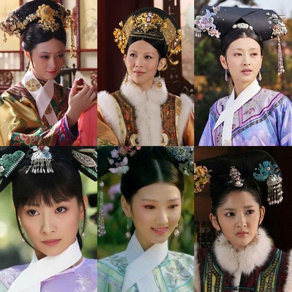 Trong khi đó, Hậu cung Chân Hoàn truyện có lực lượng mỹ nhân hùng hậu và đặc sắc hơn hẳn.