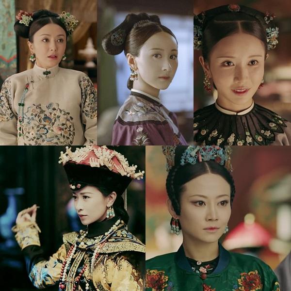 Những nhân vật gây ấn tượng trong dàn hậu cung Diên Hy Công Lược.