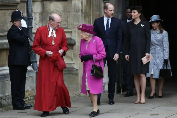 William và Kate từng đến muộn tại ngày kỷ niệm Lễ phục sinh hồi tháng 3 năm nay.