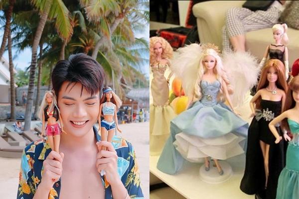 Đào Bá Lộc không ngại công khai cá tính của mình với fan. Nam ca sĩ thể hiện độ nữ tính qua những bộ sưu tập về thời trang, son môi, đặc biệt là có hẳn tủ đựng búp bê Babie dễ thương.