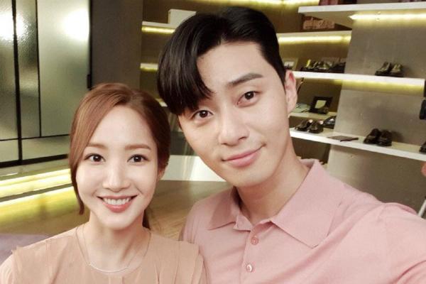 Nam diễn viên úp mở về khả năng tiến tới với Park Min Young.