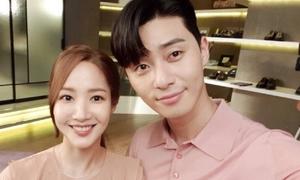 Park Seo Joon úp mở chuyện tiến tới với Park Min Young