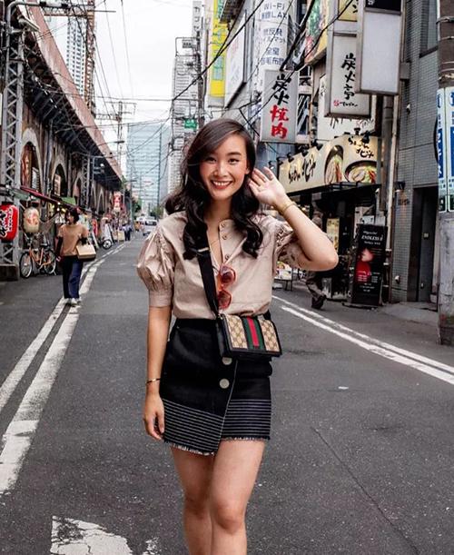 LeVi Nguyen là nữ fashion blogger gốc Việt, hiện sống và làm việc tại Tokyo, Nhật Bản. Cô là chủ nhân tlnique