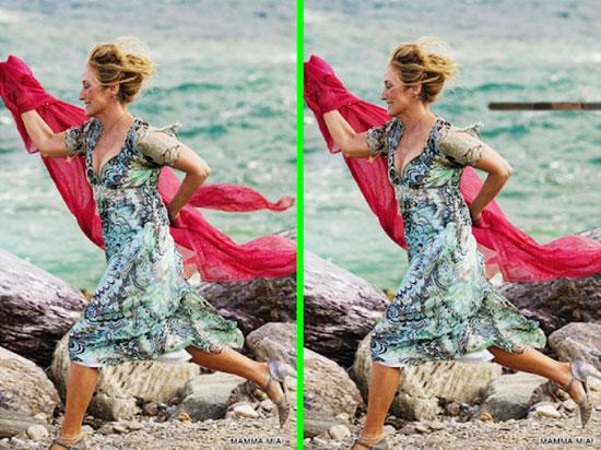 Phát hiện điểm khác biệt trong phim Mamma Mia - 2