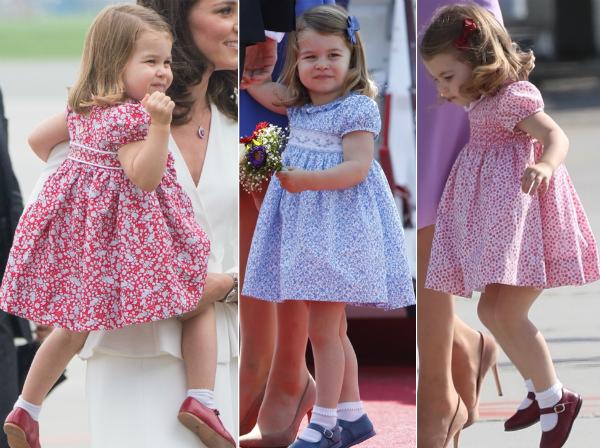 Công chúa Charlotte luôn được diện những bộ đầm nữ tính, nhẹ nhàng theo đúng phong cách cổ điển.