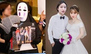 Fan Việt 'chơi lầy' hóa Vô Diện, ghép ảnh cưới khi gặp EXID