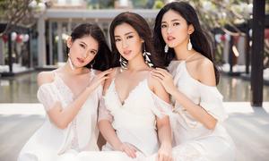 Thanh xuân ngọt ngào của top 3 Hoa hậu Việt Nam 2016