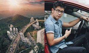 Chàng trai Malaysia nổi tiếng nhờ bức ảnh Cầu Vàng