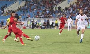 Bàn thắng 'siêu phẩm' của Công Phượng trong trận thắng Palestine