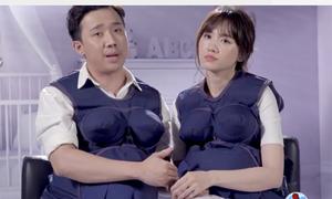 Trấn Thành an ủi Hari Won: 'Không có con ruột thì xin con nuôi'