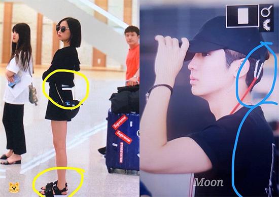 Hai idol có ngoại hình đẹp đôi nhưng chưa lên tiếng về tin đồn.