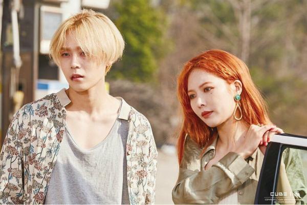 Hyun Ah gây bất ngờ khi công bố chuyện hẹn hò.