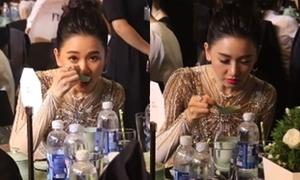 Hari Won phản pháo khi bị chê ăn uống 'kém sang'