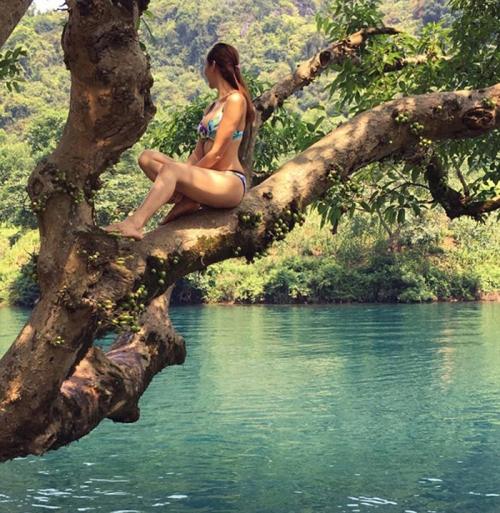 8 năm sau đăng quang Hoa hậu du lịch Việt Nam 2008, Ngọc Diễm thường xuyên kết hợp những chuyến công tác với sở thích du lịch cá nhân. Cô quan niệm: Những chuyến đi như thế này vừa mở mang tầm mắt, vừa góp phẩn quảng bá du lịch đất nước. Tôi là người may mắn khi được đi nhiều.