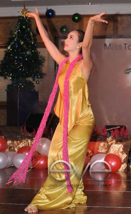 Sau khi tháng đăng quang Hoa hậu du lịch Việt Nam, Ngọc Diễm được đề cử tham dự cuộc thi Hoa Hậu Trái Đất 2008, nhưng vì không kịp thủ tục cấp phép nên cô dành lỡ hẹn. Sau đó, Ngọc Diễm lên đường sang Malaysia, đại diện cho sắc đẹp và du lịch Việt Nam thi Hoa hậu Du lịch Quốc tế 2008. Tại cuộc thi, Ngọc Diễm để lại hình ảnh cô gái Việt Nam tự tin, thông minh. Cạnh đó, cô góp phần không nhỏ trong việc quảng bá du lịch Việt Nam đến với bạn bè quốc tế. Trong đêm chung kết, cô có mặt trong top 3 trang phục dân tộc đẹp nhất và thí sinh tài năng nhất tại cuộc thi Hoa Hậu Du lịch quốc tế 2008.