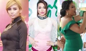 Không chỉ CL, nhiều sao Việt cũng khiến fan ngơ ngác khi cân nặng thay đổi