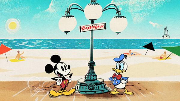 Chuột Mickey là nhân vật hoạt hình có tuổi đời lớn nhất.
