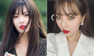 Hyun Ah đời thường makeup xinh đẹp bao nhiêu, lên sân khấu 'gây hết hồn' bấy nhiêu
