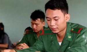 Điểm trúng tuyển vào 18 trường quân đội