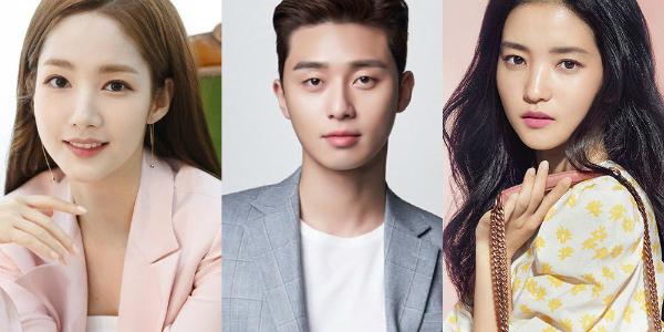 Top 3 diễn viên của tháng 8 là Park Seo Joon, Park Min Young và Kim Tae Ri.
