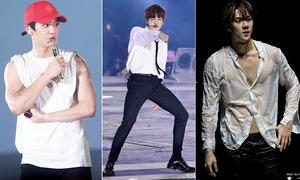 Những màn 'lột xác' hình thể ngoạn mục của nam thần tượng Kpop