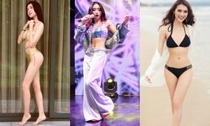 3 người đẹp Vbiz có vòng eo 'vượt mặt' cả Ngọc Trinh