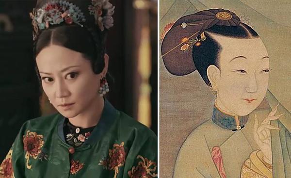 Cách tô son này nhằm giúp các cô gái ngày xưa có khuôn miệng chỉ nhỏ nhắn như một chấm son, tạo hình ảnh chúm chím, e ấp. Mỗi thời đại của Trung Quốc mỹ nhân lại có một lối trang điểm khác biệt.