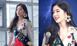 Irene được fan gọi là 'visual thế kỷ' trong lần đầu tiên diện áo xẻ ngực