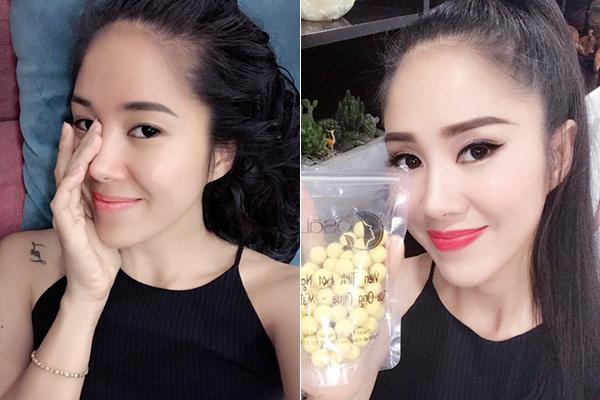 Nhiều người cho rằng, trước khi trang điểm, trông Lê Phương còn trẻ trung, thu hút hơn lúc son phấn đậm đà. Gương mặt của nữ diễn viên cũng phù hợp với lối makeup nhẹ nhàng hơn là tút tát quá đậm.