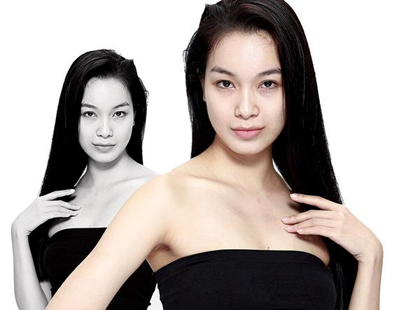 Võ Thùy Dung từng quen mặt trong nhiều cuộc thi nhan sắc.