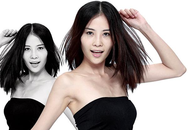 Nguyễn Thị Lệ Nam - chị gái Nam Em - cũng được chọn tiếp vào vòng trong.