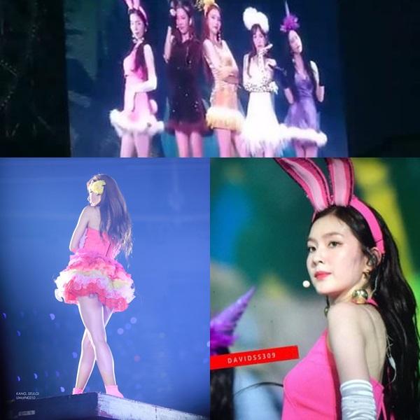 Những trang phục biểu diễn đang gây tranh cãi của Red Velvet.