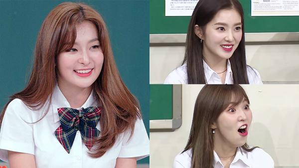 Red Velvet là khách mời trên show nổi tiếng.
