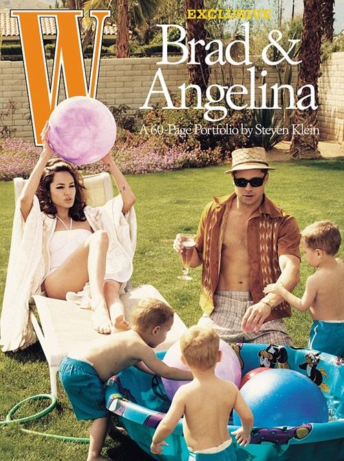 Bộ ảnh gây sốc làng giải trí của Brad Pitt và Angelina.