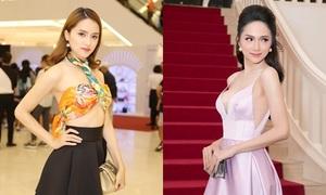 Phong cách của Hương Giang trước và sau đăng quang hoa hậu