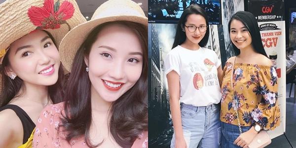 Hai cô gái xinh đẹp, giỏi giang Chloe Nguyễn (trái) và Nam Phương từng không ít lần xuất hiện cùng Primmy Trương. Họ đều sở hữu gương mặt xinh đẹp, gu thời trang hiện đại.