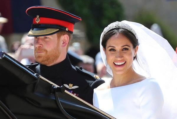 Nhan sắcrạng rỡ của Meghan trong ngày cưới.