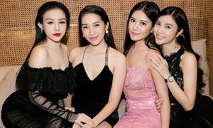 Những hội 'gái xinh chơi với nhau' trong showbiz Việt