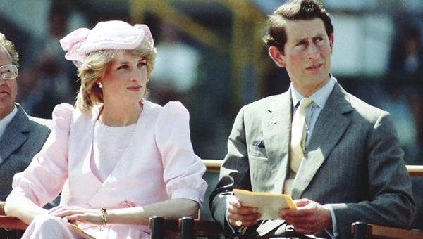 Diana luôn tỏa sáng và được người dân chào đón so với người chồng mờ nhạt của bà.