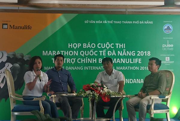 Manulife Danang International Marathon sẽ diễn ra từ ngày 11 đến 12/8 tại Đà nẵng.