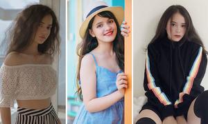 4 nữ sinh 'bông hồng lai' mặt chuẩn dáng xinh