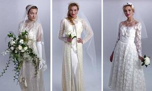 Lịch sử ra đời và phát triển của váy cưới trong vòng 100 năm qua