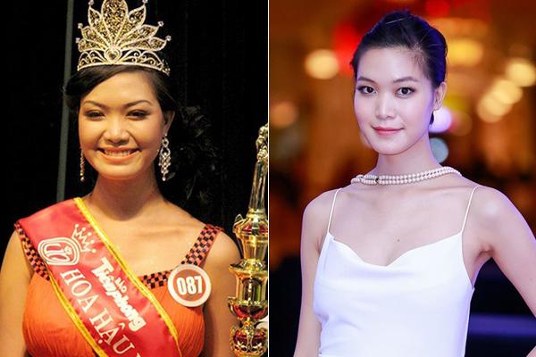 Hoa hậu Thùy Dung từng nhận không ít tranh cãi về nhan sắc khi đăng quang năm 2008. Sau nhiều lùm xùm, Thùy Dung hạn chế xuất hiện, chuyển hướng sang làm người mẫu thỉnh thoảng xuất hiện trên sàn diễn vì cô có gương mặt góc cạnh, chiều cao 1,8 m chuẩn mực.