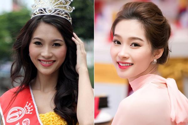 Đặng Thu Thảo có vẻ đẹp vạn người mê ngay từ lúc đăng quang. Theo thời gian, Hoa hậu Việt Nam 2012 ngày càng trắng sáng, đẹp mong manh như nàng thơ.