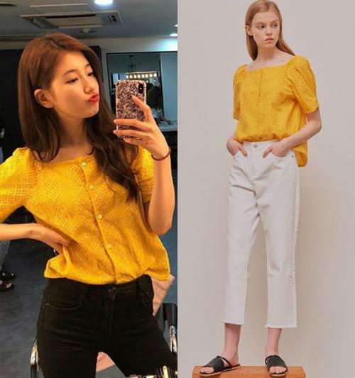 Thời trang thảm đỏ của Suzy - sang chảnh hết phần thiên hạ - 2