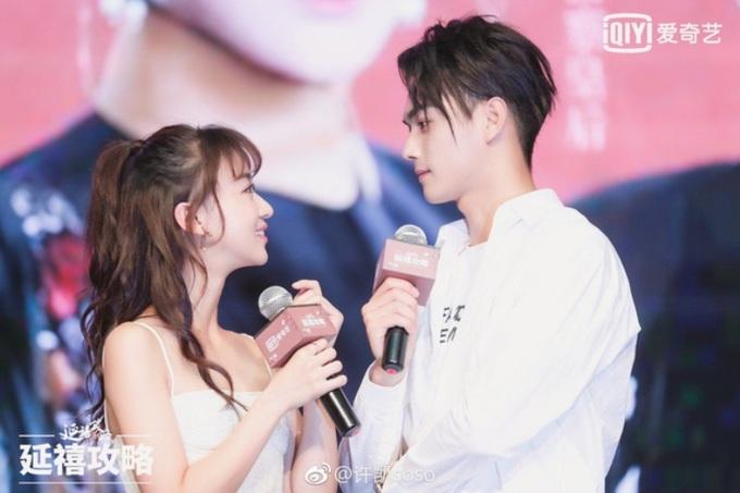 <p> Năm 2017, Hứa Khải góp mặt trong dự án phim <em>Diên Hy công lược</em>của Vu Chính, hợp tác với các nữ diễn viên Ngô Cẩn Ngôn (ảnh), Tần Lam, Xa Thi Mạn. 9x còn đảm nhận thêm vai diễn cổ trang khác trong phim <em>Chiêu Dao.</em>Năm 2018, anh sẽ nhận vai nam chính trong bộ phim <em>Liệt Hỏa Quân Giao.</em></p>